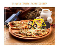 Bike Pizza Cutter Road Bicycle Chopper Slicer Kitchen Tools Stainless Steel BE