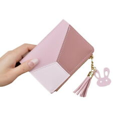 Women Short Small Money Purse Wallet NEW Ladies Leather Folding Coin Card Holder