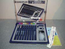More details for vintage staedtler mars mars matic 700  technical pen set original box