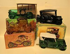 Vintage Avon Maxwell 23, Touring T, Station Wagon, Packard Roadster Car Decanter