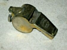 A Vintage Chrome Brass Acme Thunderer Sports Referees Whistle Made in India