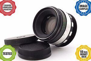 HELIOS 44-2 2/58 ZEBRA lens *your camera adapted**full range focusing* Grade A-