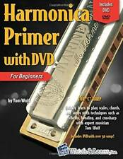 Harmonica Primer Book for Beginners with DVD - Paperback By Tom Wolf - GOOD