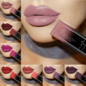 Pudaier Moisturizer Matte liquid Nude Liquid Lipstick Long Lasting Lip Gloss