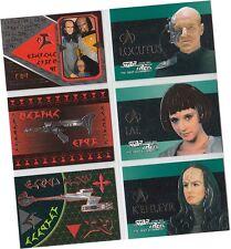 Star Trek TNG Next Generation Season 3: 6 Card Embossed Foil Chase Set S13-18