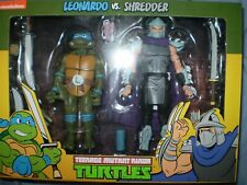 NECA TMNT Leonardo vs Shredder (Target exclusive 2-pack)