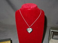 NEW Welsh Clogau Silver & Rose Gold Secret Garden Flower Heart Locket RRP £119