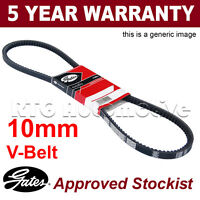 Gates Alternator Fan Drive V Belt For Ford Jeep Renault Auxiliary 6310MC