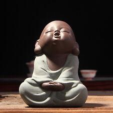 Tea Pet Factory Outlets Lovely Buddha Tea Pet Monk Sand High Qulity Purple Tea