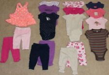 Lot of 17 Carter's Just One You baby girl outfit sets size 6 months purple pink