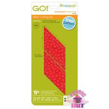 "Accuquilt GO! Fabric Cutter Die Parallelogram 2 3/4"" x 2 1/2"" Quilting Sew 55318"