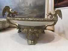 ancienne coupe canton chine monture en bronze doré epoque napoleon III chimeres