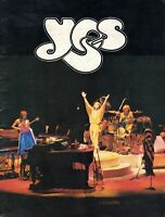 YES 1979 TORMATO U.S. TOUR CONCERT PROGRAM BOOK BOOKLET-JON ANDERSON-EX TO NMT