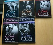 M S Parker Club Prive 5 book series suspense and erotic romance