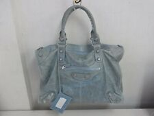 NF10 Balenciaga Giant - The City shoulderbag handbag Silver hardware with mirror