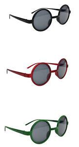 Gafas de Sol Redondas Clásico Elegante Retro Marco Moda Elige 3 Colores 8360S