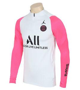 Nike Paris Saint Germain Strike Drill Top White/Pink DH1285-044