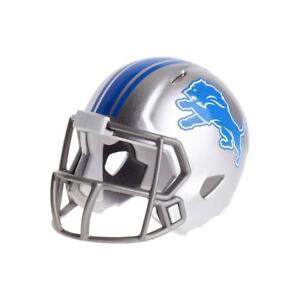 Detroit Lions NFL Riddell Pocket Pro Speed Mini Football Helmet