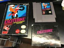 EXCITEBIKE ORIGINAL Nintendo NES AUTHENTIC Complete CIB