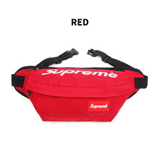 Supreme Public Travel Hip-Colored Slings Cross Bag Red Casual Passport Purse