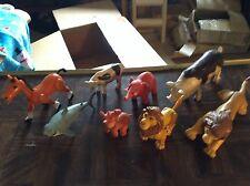 Assorted plastic animals