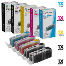 LD © For Canon PGI250XL CLI251XL 5pk 6432B001 6448B001 6449B001 6450 6451