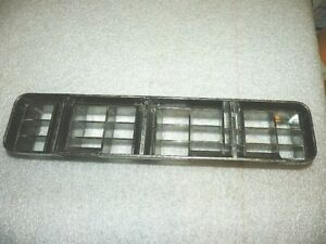 1979 CHEVROLET CAPRICE RIGHT FRONT LOWER CHROME GRILL IN BUMPER 475704 NOS GM
