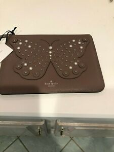 Kate Spade Butterfly Leather Pouch
