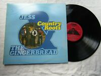JESS / GINGERBREAD LP COUNTRY ROOTS tank 130 signed on the sleeve
