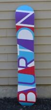 2017 WOMENS BURTON FEELGOOD 152 SNOWBOARD $600 152 cm directional camber used