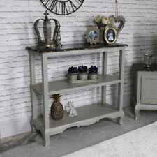 Mobili e pensili grigio vetrina in legno per la casa