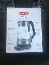 New Oxo On Adjustable Temperature Gooseneck Pour-Over Tea Coffee Kettle