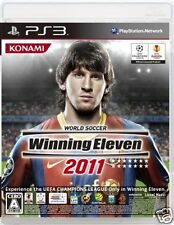 Used PS3 Winning Eleven 2011 SONY PLAYSTATION 3 JAPAN JAPANESE JAPONAIS IMPORT