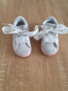 Baby Puma Suede Trainers Size UK 6
