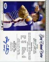 Gary Carter Psa Dna Coa Autographed 8x10 Photo  Hand Signed Authentic Mets