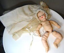 vintage 1960's Madame Alexander CHERUB Baby Doll needs restrung original clothes