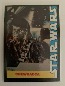1977 Star Wars Wonder Bread Chewbacca #9 Trading Card High Grade