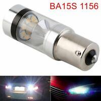 New White P21W BA15S 1156 LED Canbus Backup Reversing Light Reverse Turn Lamp