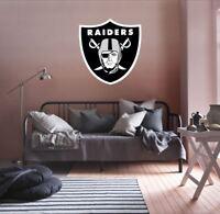 Los Angeles Raiders NFL Team Logo Color Printed Decal Sticker Car Window Wall