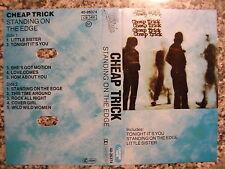 Musikkassette Cheap Trick / Standing on the Edge - Pop Album