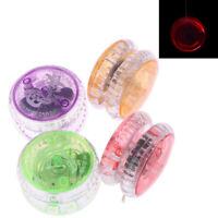 Balle yoyo en plastique LED lumineux haute vitesse coloré flash enfants jouet