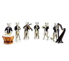 Katzenkapelle gatos músico-bronce de Viena-los gatos episodios-personajes grupo