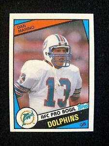 DAN MARINO 1984 Topps Rc ROOKIE CARD #123