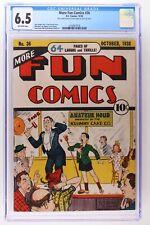 More Fun Comics #36 - DC 1938 - CGC 6.5 - 3rd Highest Grade!
