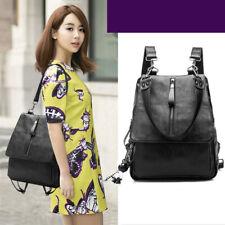 DE Rucksack Echtes Leder Damentasche Handtasche Schultertasche Backpack Urlaub