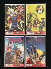 LEGO VARIANT COVER 4 ISSUE HIGH GRADE LOT AVENGERS THOR WOLVERINE BLACK WIDOW