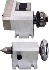 New listing Router Rotational Axis Rotary F A-Axis 4th-Axis and TailStock for Cnc Engraving