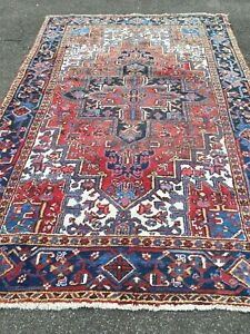 antico-swiss Beautiful Antique indoHERIZI rug 6`8 x 9`7 ft