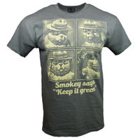 "Smokey Bear Men's T-shirt - Smokey says ""Keep it green"" - Forest Fire Prevention"