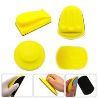 Kletthaftend Handschleifklotz Handblock Handschleifer für Exzenterscheibe